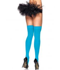 Neonblå stockings