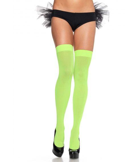 Neongrønne stockings