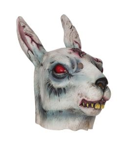 Zombie kanin maske