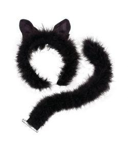 Katteører og hale, plys
