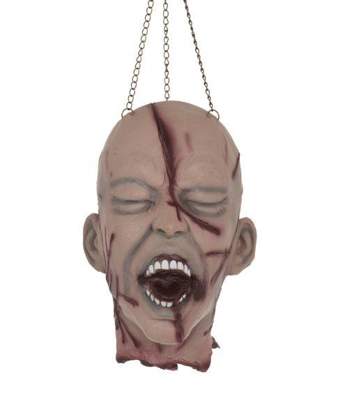 Såret afrevet hoved