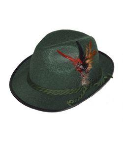 Mørkegrøn Tyrolerhat