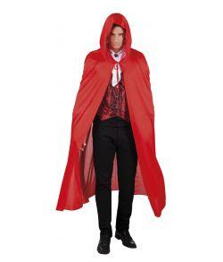 Rød kappe med hætte