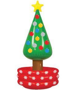 Oppustelig juletræs køler