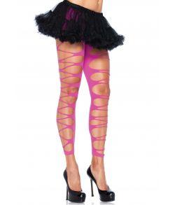 Neonpink revet leggings