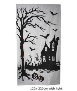Halloween væggardin
