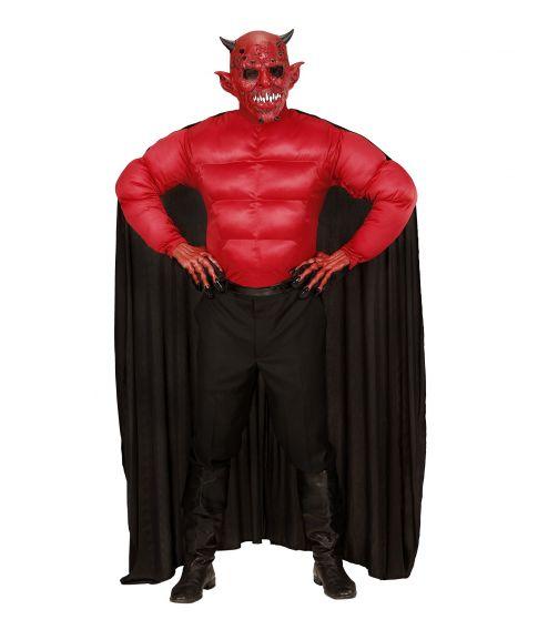 Rød muskelbluse