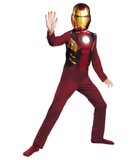 Avengers Iron Man kostume