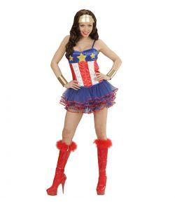 Superheltinde kostume til sidste skoledag