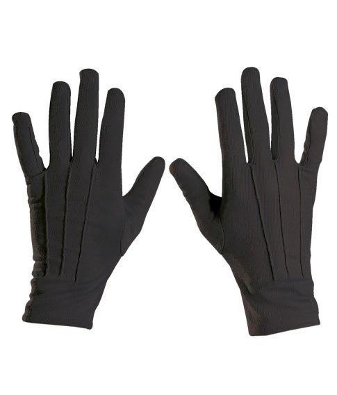 Sorte korte handsker