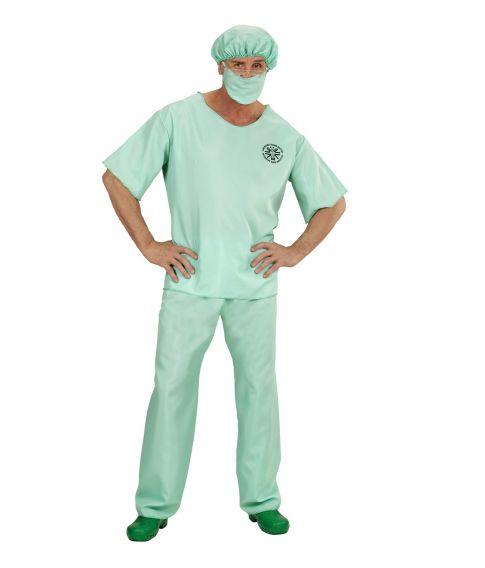Læge kostume