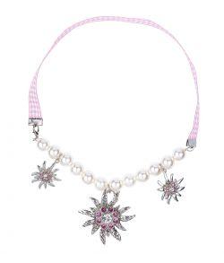 Edelweiss perlehalskæde