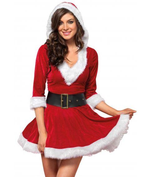 Julepige kostume
