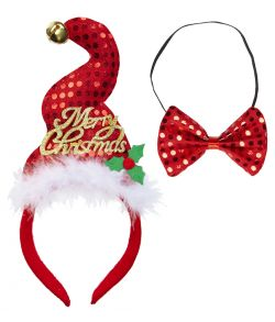 Julehue og butterfly