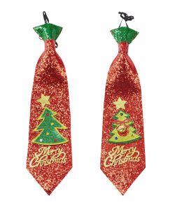 Glimmer slips med juletræ