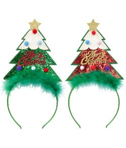 Juletræ hårbøjle