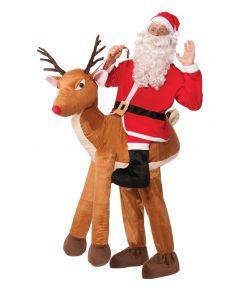 Julemand med rensdyr