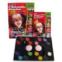 Eulensepiegel Sminkepalette 16 farver