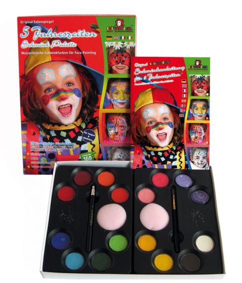 Sminkepalette 16 farver