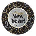 Happy New Year tallerkner