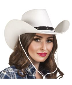 Cowboyhat Wichita hvid