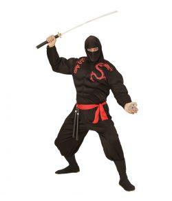 Muskel Ninja kostume