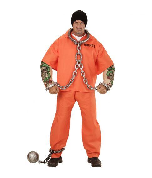 Tattooed Convict kostume