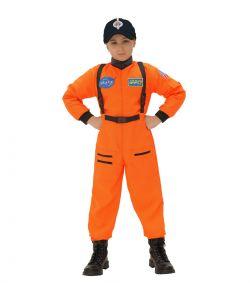 Astronaut kostume, orange