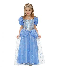 Blå Prinsesse kjole