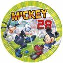 Mickey Mouse Goal tallerkner