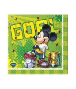 Mickey Mouse Goal servietter