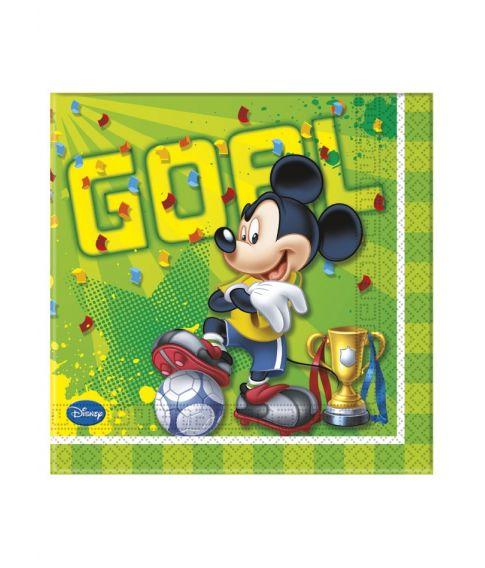 Mickey Mouse Goal servietter