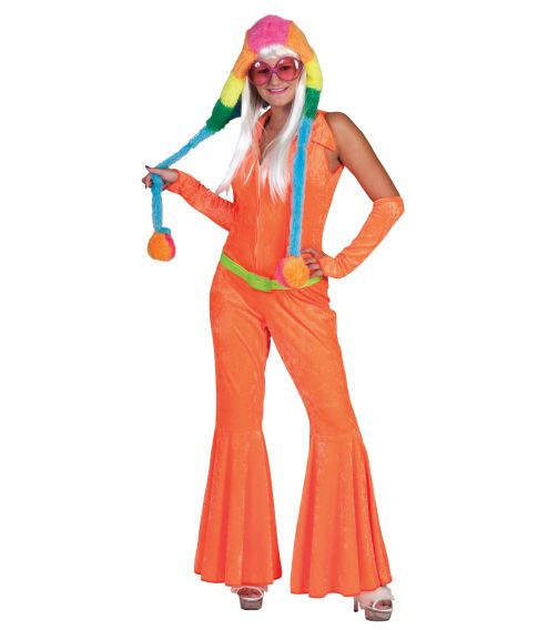 Neonorange jumpsuit