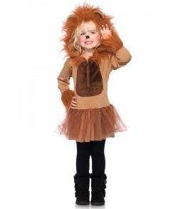 Cuddly Lion Løve kostume