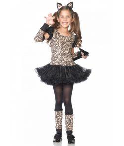 Leopard kjole