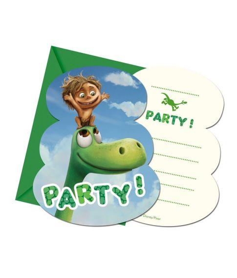 Den Gode Dinosaur invitationer