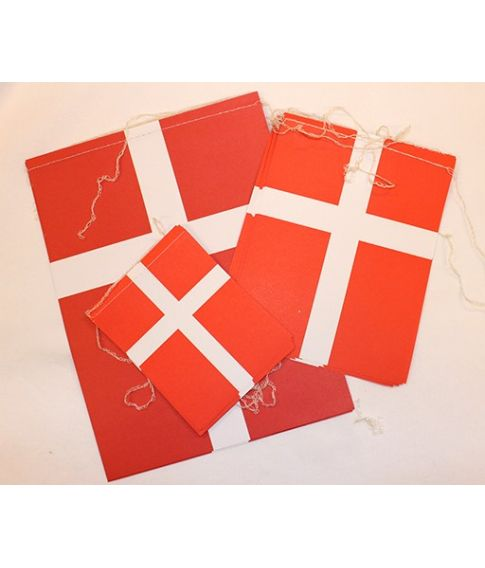 Dansk flagguirlande