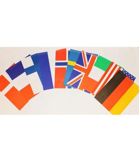 Flagguirlande A5
