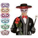 Dia de los Muertos halvmaske