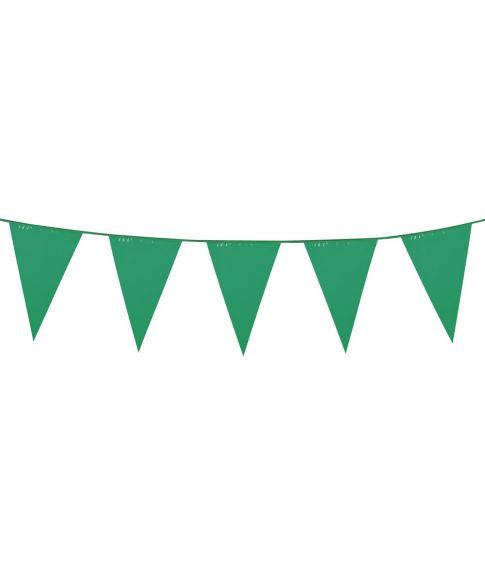 Grøn vimpelguirlande