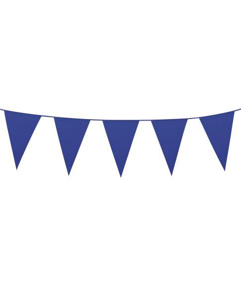 Blå vimpelguirlande