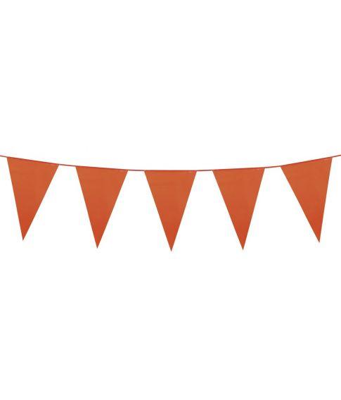 Orange vimpel guirlande