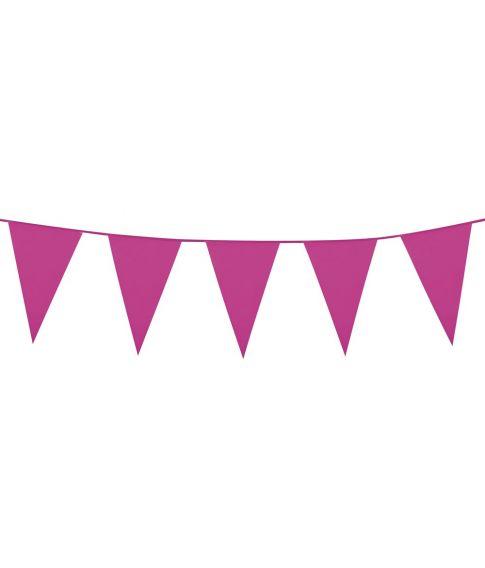 Pink vimpel guirlande