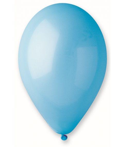 Lyseblå ballon