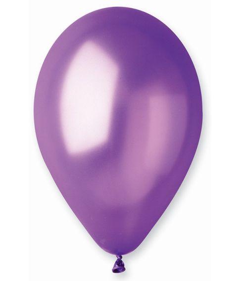 Lilla ballon, metallic