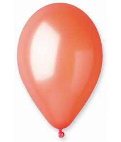 Orange ballon, metallic