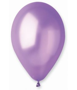 Lavendel ballon, metallic