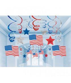 USA loft dekorationer