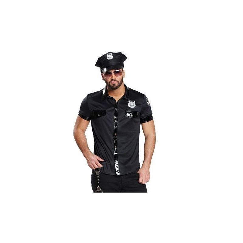 Politiskjorte til kostume til voksne