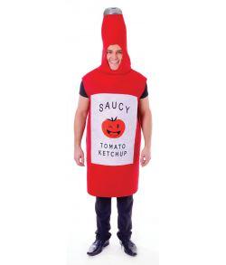 Ketchupflaske kostume